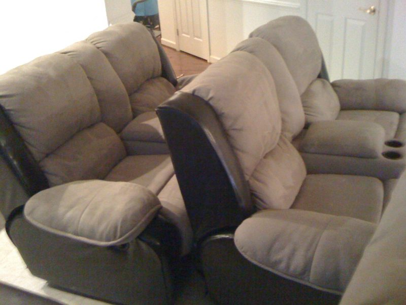 We steam clean your Upholstery, Chairs, Recliners, Futon's, Love-Seats, Ottoman and all your cushion Pillows.