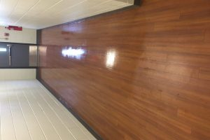 Waxing Hardwood Floor FFX