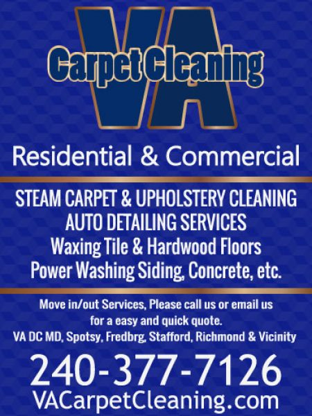 VA DC MD Carpet Cleaning